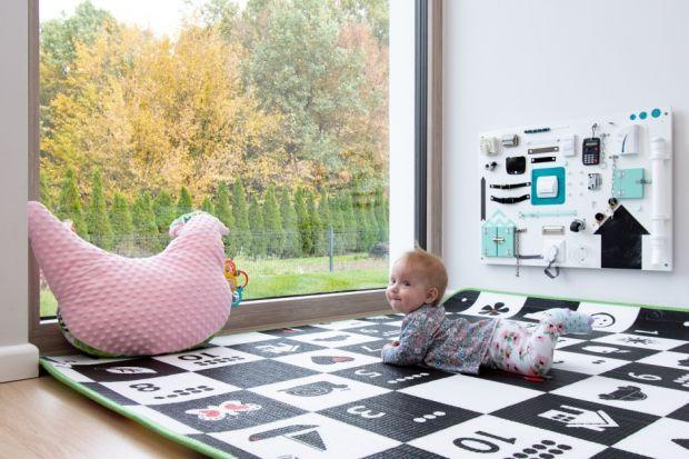 """""""Bezpieczne okna"""" w pokoju dzieci"""