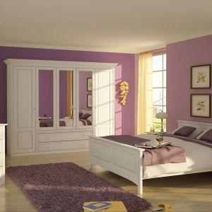 """Kolekcja """"Malaga"""" to doskonała propozycja do kobiecej sypialni. Fot. MMI Sleeping"""