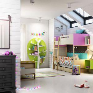 Półki ścienne o ciekawej formie sprawią, że pokój dziecka nabierze wyjątkowego charakteru. Fot. Timoore