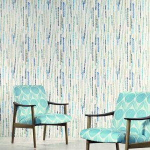 """W skandynawskich wnętrzach często dominującymi barwami są odcienie pastelowe. Na zdjęciu kolekcja tapet """"Orvieto"""" marki Romo. Fot. Decodore"""