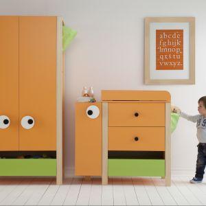 Kolekcja mebli Meee to pozytywne kolory i zabawne wzory, które przypadną do gustu najmłodszym. Fot. Meble Vox