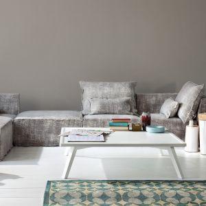 Modułowa sofa wyglądająca niczym kamienne klocki. Fot. Gervasoni