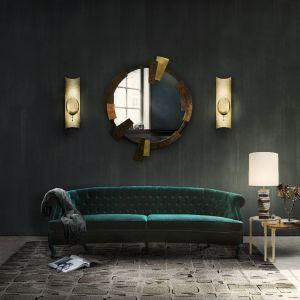 Sofa w szlachetnej, zielonej barwie z eleganckimi pikowaniami. Fot. Brabbu