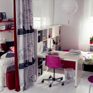 Pomysłowe urządzenie pokoju młodzieżowego to prawdziwe wyzwanie. Warto zapytać się dziecko, czego potrzebuje, aby urządzić mu wymarzony pokój. Fot. IKEA