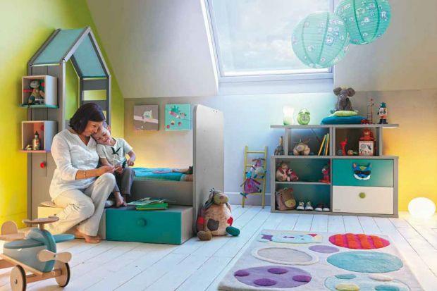 Regały, szafy i komody w dziecięcym pokoju