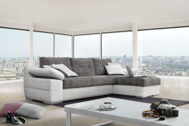 """""""Arezzo"""" to model sofy, będący wyjątkowym połączeniem nowoczesnego stylu z funkcjonalnością. Prosta, elegancka linia mebla uzupełniona jest ozdobną listwą."""