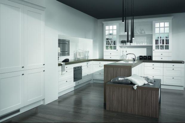 """Kuchnia """"Rocca"""" charakteryzuje się stylistyką retro, o której to decydują przede wszystkim detale zarówno funkcjonalne, jak i dekoracyjne."""