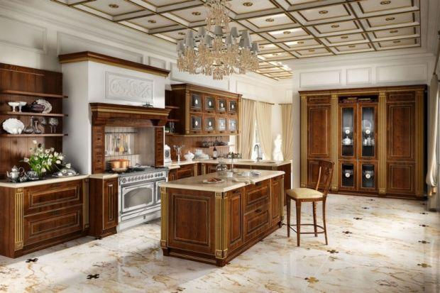 Romantyczne kuchnie w wielkim stylu!