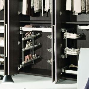 Rozwiązania do garderoby proponowane przez firmę Tco. Fot. TCo.