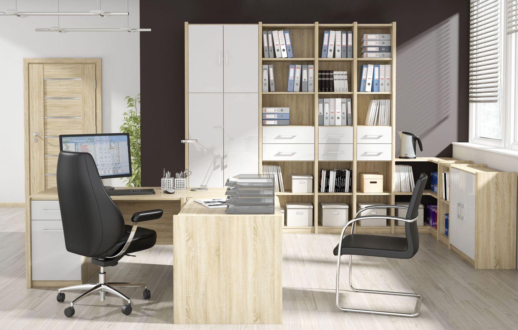 Modułowa kolekcja Nordic. System składa się z wielu elementów, które klient może dowolnie komponować. Fot. FM Bravo
