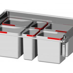 W linii Maksima firmy Rejs znajdują się m.in. szuflady umożliwiające segregację odpadów. Fot. Rejs