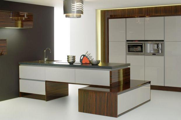 """Kuchnia """"Oktawia""""to kuchnia stworzona z prostych, geometrycznych brył. Cechuje ją przede wszystkim niebanalna i jednocześnie ponadczasowa forma zabudowy."""