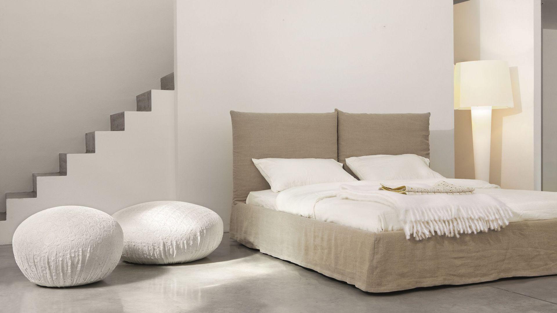 Łóżko w całości tapicerowane. Fot. Bonaldo