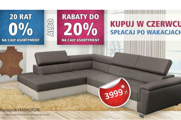 Meble Wygodne Mieszkanie - promocje do 20% na cały asortyment