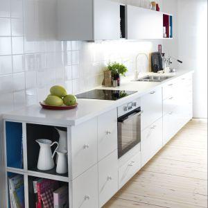 """Biała kuchnia """"Metod"""" marki IKEA. Fot. IKEA"""
