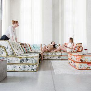 Kolekcja Fancy to modułowe meble wypoczynkowe, które dopasujesz do swojego salonu i własnych upodobań. Fot. Bizzarto