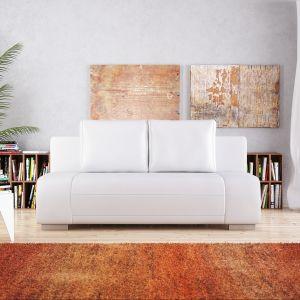 Sofa dwuosobowa Bali wyróżnia się jasną kolorystyką. Fot. Tombea