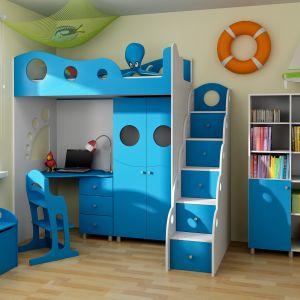 Kolekcja mebli Nemo z oferty firmy BabyBest wprowadzi do pokoju dziecka magiczny, bajkowy klimat. Fot. BabyBest