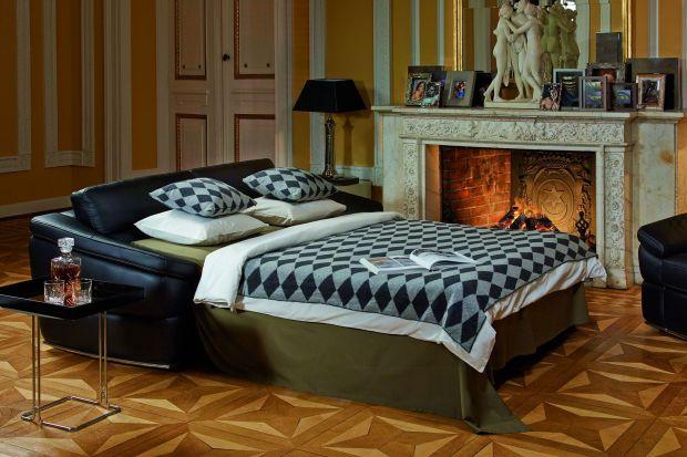 Sofa z funkcją spania – alternatywa dla łóżka w sypialni