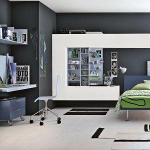 Takie meble można ustawić zarówno w pokoju nastolatka, jak i studenta. Są nowoczesne i trochę minimalistyczne. Fot. Tomasella