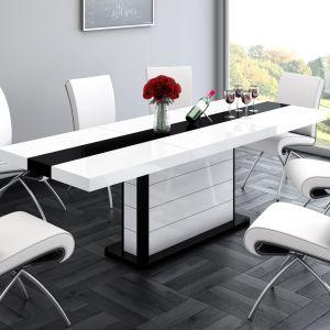 Oryginalny stół Pianosa ma jedną grubą nogę, która stanowi ozdobny element mebla. Fot. Hubertus