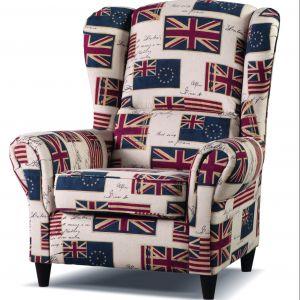 Fotel Baron marki Libro ma klasyczną formę. Jest miękki i wygodny. Cena: 816 zł. Fot. Libro