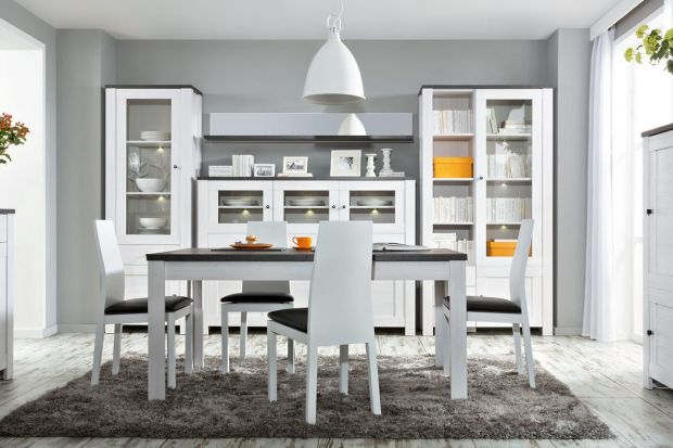 Według wielu osób stół jest centralnym elementem wyposażenia wnętrza. To serce domu, przy którym codziennie gromadzi się rodzina. Warto więc zadbać, by był wygodny, ale także zachwycał swoją urodą. Dziś prezentujemy modne kolekcje w bieli.