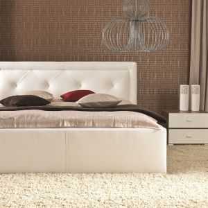 "Łóżko ""Karo"" firmy Wajnert Meble. Fot. Wajnert Meble"