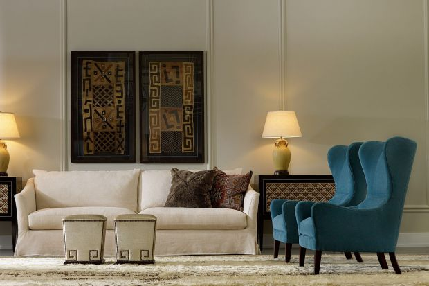 Sofa w salonie. Najpiękniejsze białe kolekcje