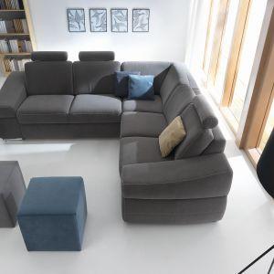 Coco zapewnia wyjątkowy komfort dzięki miękkim siedziskom. Fot. Gala Collezione