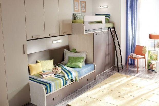 Dziecko w małym pokoju. Najlepsze meble dla rodzeństwa
