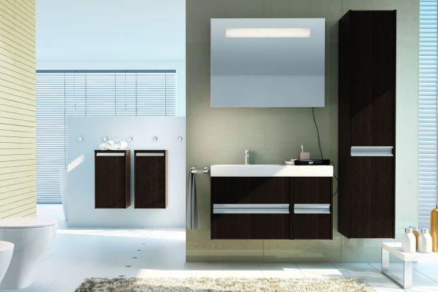 """""""Imperial"""" to dowód na to, że ciemne dekory także pięknie urozmaicą wnętrze naszej łazienki."""