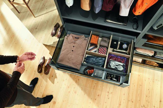 Przechowywanie w domu. Schowaj wszystko do szuflady