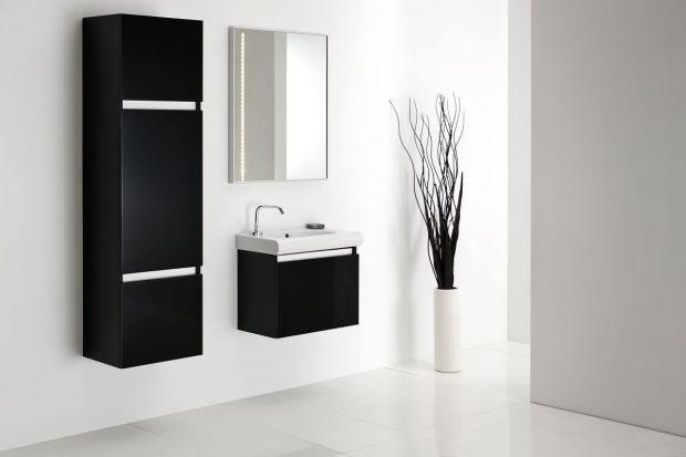 Meble do łazienki. Kolekcje w kolorach czerni i bieli