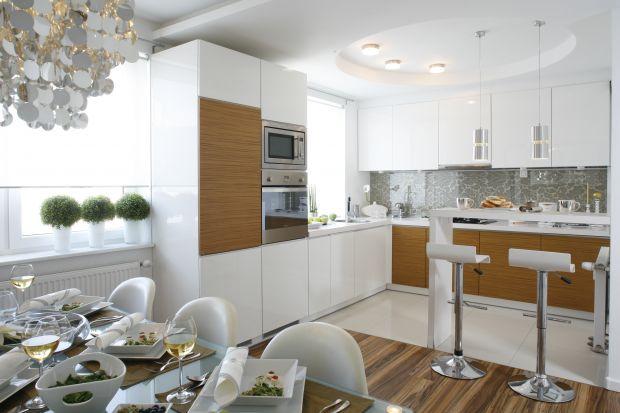 """Zalet zabudowy kuchennej w kształcie litery """"L"""" jest tak wiele, że nie sposób je wszystkie wymienić. Zobacz sam jak praktyczna może być kuchnia."""
