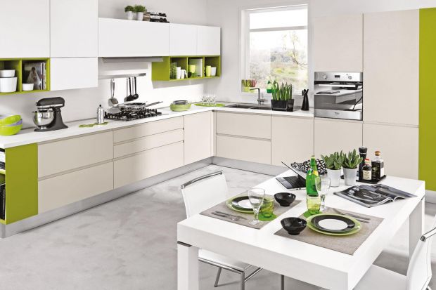 Piękne i praktyczne - takie właśnie są matowe fronty w kuchni. Dodatkowo, połączone z materiałami jak beton czy drewno, tworzą najmodniejszą w tym sezonie kompozycję.