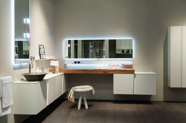 Nowoczesna i piękna. Doskonała zarówno dla gości, jak i do codziennego użytku domowników - minimalistyczna łazienka. Zobacz jakie meble do niej pasują.