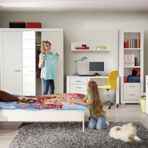 Kolekcja Snow świetnie sprawdzi się zarówno w pokoju chłopca, jak i dziewczynki. Fot. Forte