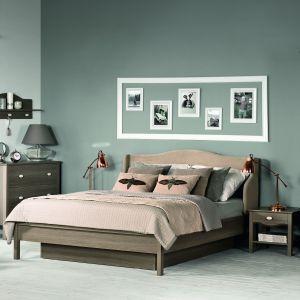 Kolekcja mebli do sypialni Volant by Vox ma piękne opływowe kształty, które sprawiają, że wnętrze wygląda lekko i przytulnie. Fot. Meble VOX