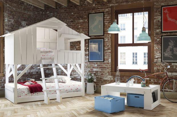 Któż z nas, będąc dzieckiem nie marzył o łóżku ze zjeżdżalnią, lub zwykłym łóżku piętrowym? Współczesne dzieciaki mają znacznie lepiej, ponieważ producenci mebli wymyślają nieraz niesamowite meble do ich pokoi.