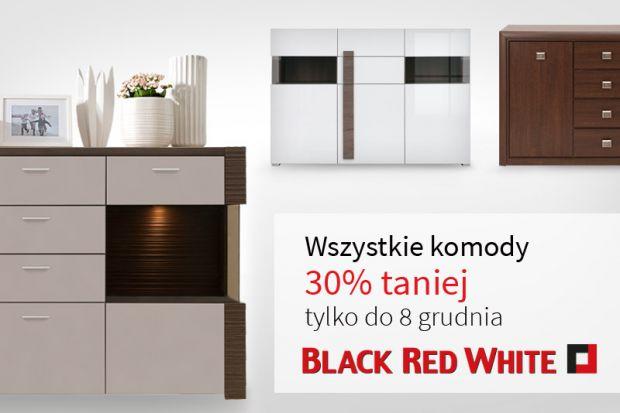 Komody Black Red White aż 30% taniej!