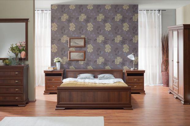 """Sypialnia """"Kora"""" dedykowana jest miłośnikom stylowych aranżacji."""