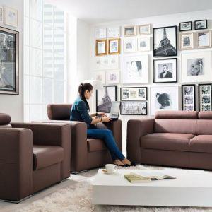 Sofa Enzo marki Black Red White z funkcją spania bez pojemnika na pościel. Fot. Black Red White