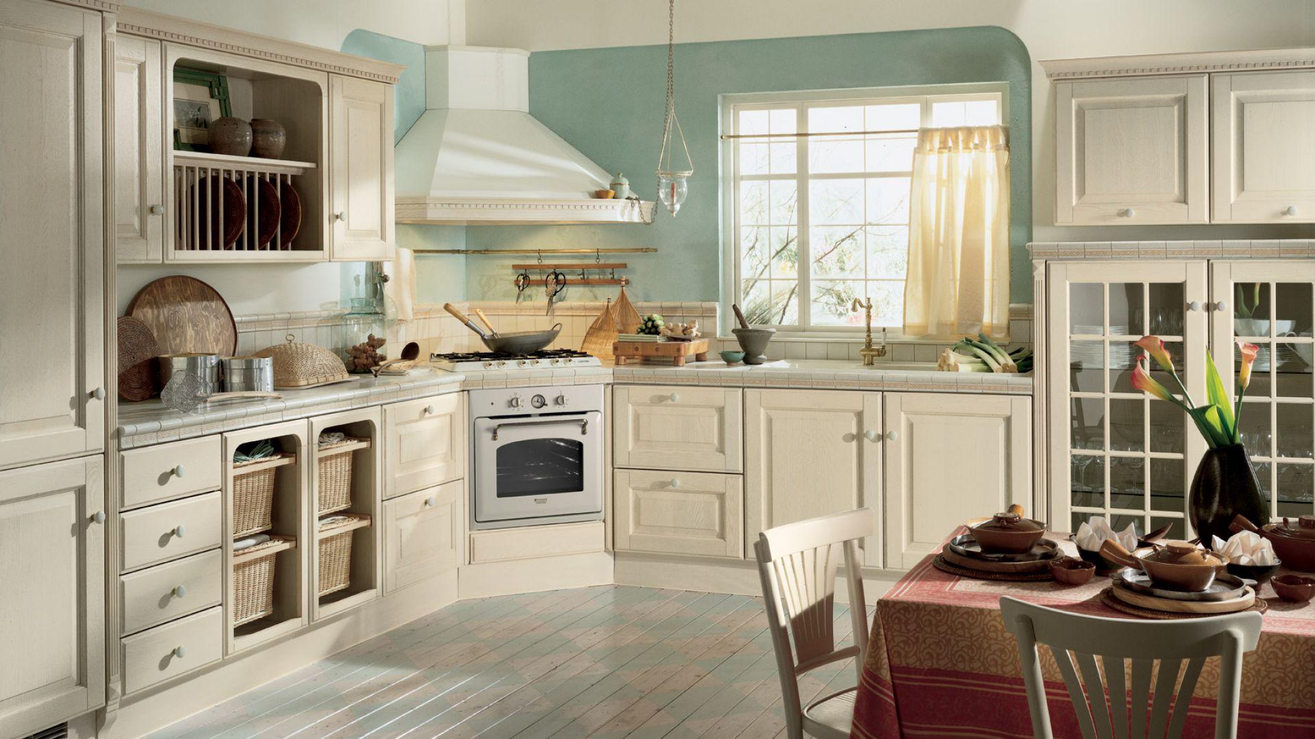 Klasyczne kuchnie są pełne małych, stylowych detali oraz wypełnione aromatem świeżo upieczonego chleba. Kuchnia