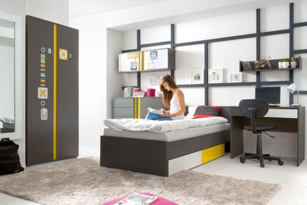 Urządzając pokój młodzieżowy, warto zwrócić szczególną uwagę na łóżko, które nastolatkom służy zazwyczaj nie tylko do spania, ale też do relaksu w ciągu dnia, czytania książek, a czasem nawet... przyjmowania gości w swobodnej, niezobo