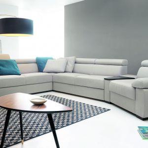 Model Zoom marki Etap Sofa, wykonany w tkaninie łatwoczyszczącej firmy Fargotex. Fot. Etap Sofa