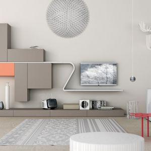 Zainteresowaniem klientów cieszą się szafki rtv z tzw. panelem plazmowym. Fot. Go Modern Furniture