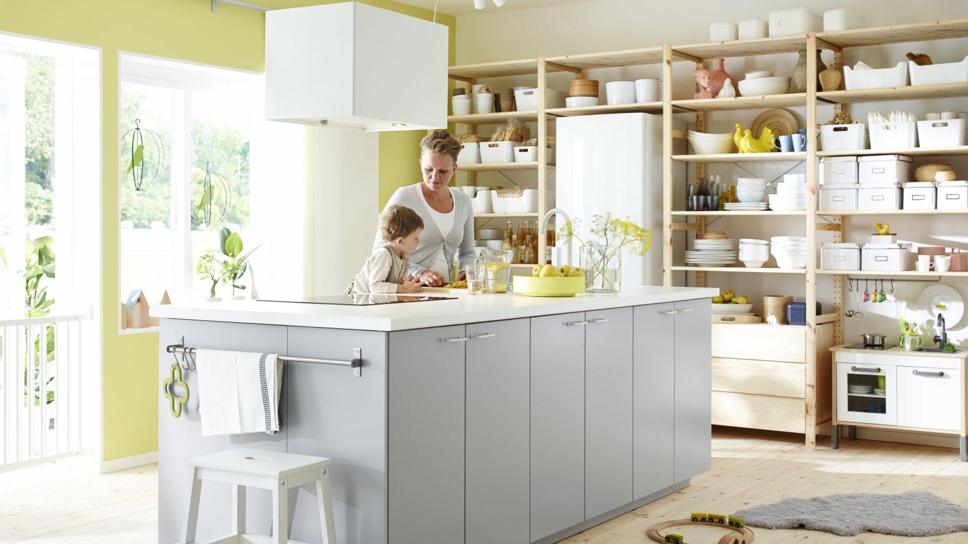 Kuchnia Metod. Za najprostszy zestaw trzeba będzie zapłacić 1.199 zł. Najdroższe są zestawy Metod Hyttan i Luxarby - 1.909 zł. Fot. IKEA