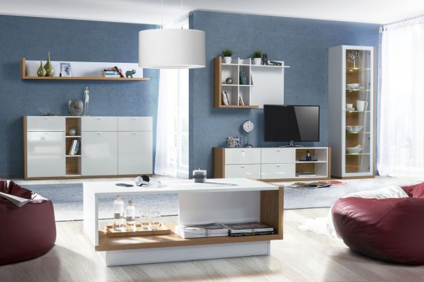 Chcesz urządzić salon zgodnie z obowiązującymi trendami, a do tego z klasą? Wybierz meble na wysoki połysk.