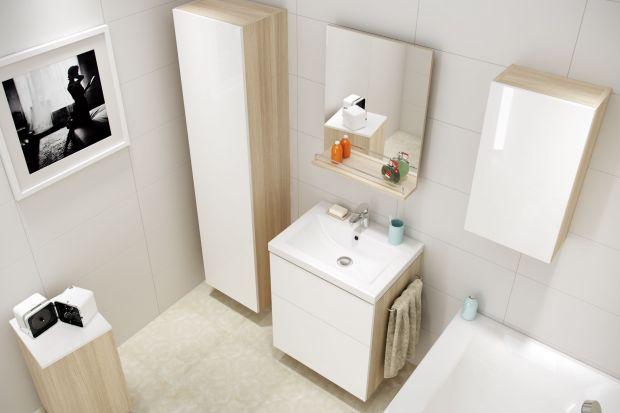 Kolekcja Smart marki Cersanit to doskonała propozycja, jeśli łazienka ma być jasna, ale też ciepła w odbiorze.
